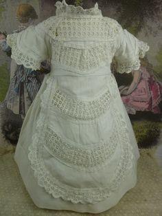 original french pique dolls dress