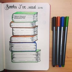 Any Book Lover NEEDS this cute graphic! Why didn't I think of this quirky TBR? Wow, impressive #bookworm #bullet journal! (scheduled via http://www.tailwindapp.com?utm_source=pinterest&utm_medium=twpin&utm_content=post114280187&utm_campaign=scheduler_attribution)