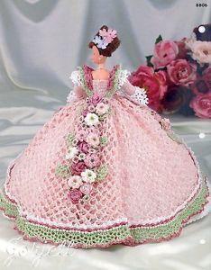 Rose Annie's Glorious Gowns Flower Garden Collection Crochet Patterns | eBay: