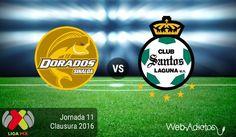 Dorados vs Santos, Jornada 11 del C2016 ¡En vivo por internet! - https://webadictos.com/2016/03/19/dorados-vs-santos-j11-clausura-2016/?utm_source=PN&utm_medium=Pinterest&utm_campaign=PN%2Bposts
