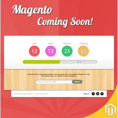 Coming Soon Page for your Magento
