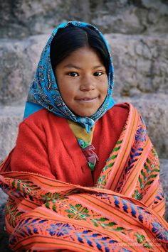 mexico chihuahua cultures and history women | Alicia, a young Tarahumara Indian girl, at Copper Canyon, Mexico.