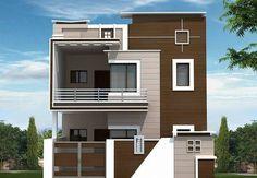 Independent House for sale,buy at Bommur, Rajahmundry 3 Storey House Design, Bungalow House Design, House Front Design, Small House Design, Modern House Design, Front Elevation Designs, House Elevation, Building Elevation, West Facing House