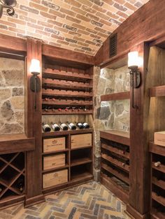 After all the time, energy, and resources that you've put into accumulating your wine collection, you better make sure that you've got a properly prepared place to store and protect it. Turn those design ideas into a reality! Call us today for more info Glass Wine Cellar, Wine Cellar Design, Wine Cellars, Wine Glass, Cigar Club, Wood Wine Racks, Wine Collection, Whisky, Rum