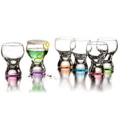 Look at this Soho Shooter Glass - Set of Six by Jay Import Joss And Main Coupon, Shot Glass Set, Curved Glass, Dining Decor, Fun Shots, Glass Design, Soho, Jay, Barbecues