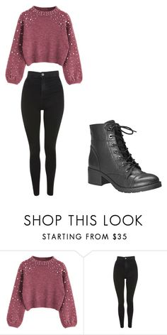"""""""casual"""" by ikatsamaki on Polyvore featuring Topshop and Avenue"""