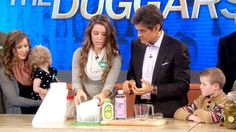 Homemade Baby Wipes and Popcorn Ideas. America's Biggest Family: The Duggars, Pt 3