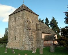 St Mary's Norman Church Kempley,Tower