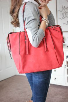 Amherst Multi-Zip Tote from Urban Expressions - Stitch Fix