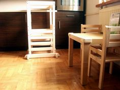 learning tower Montessori, Learning Tower, Bunk Beds, Loft, Furniture, Ideas, Home Decor, Decoration Home, Loft Beds
