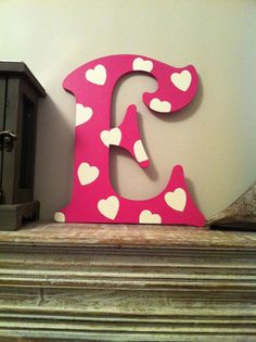 Victorian Decorative Wall Letter 'E' Any Colour by LoveLettersMe, £7.00