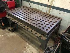 Weldsale Cast Acorn Welding Table Machine Works
