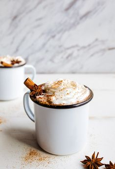 Chai hot chocolate.