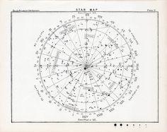 serpentskirt:  1892 star map.  http://ift.tt/1RdOh8k