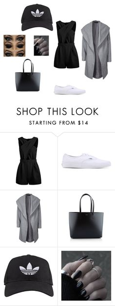 """""""Untitled #44"""" by vega-skouboe-lindberg on Polyvore featuring Vans, ONLY, Yves Saint Laurent, adidas, women's clothing, women, female, woman, misses and juniors"""
