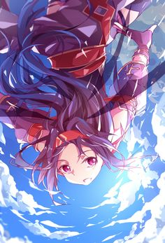 Find images and videos about anime girl cute, sword art online and how on We Heart It - the app to get lost in what you love. Arte Online, Kunst Online, Online Art, Sword Art Online Asuna, Light Novel, Tous Les Anime, Lucario Pokemon, Sword Art Online Wallpaper, Animes Yandere