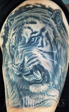 Realism Animal Tattoo by Mike Devries - http://worldtattoosgallery.com/realism-animal-tattoo-by-mike-devries-3/