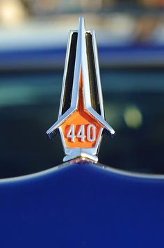 1967 Plymouth Hood Ornament Photograph by Jill Reger