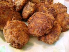 Rissoles from Somebody's Mom: Home Cooking Recipes and Cookies for our Troops | Recipes from Mom's Kitchen