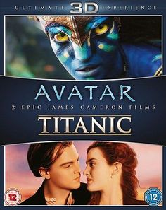 #Avatar 3d / #titanic 3d - blu-ray - new - #sealed,  View more on the LINK: 	http://www.zeppy.io/product/gb/2/331992960548/