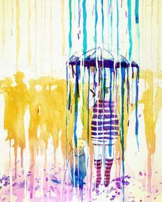 by mathiole (brasil) mathiole: rain