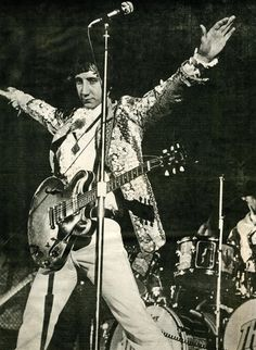 Pete Townshend at the Cow Palace by Baron Wolman, 1967