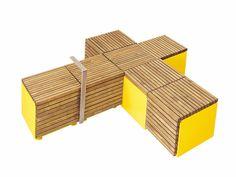 MODULAR BENCH CODE BY VESTRE | DESIGN JOHAN VERDE, HONG NGO - AANDAL