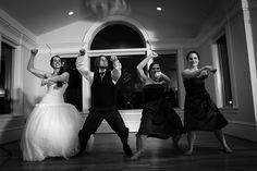 beaux vineyard wedding reception dancing photo