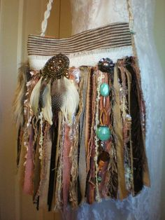 Native American Inspired Gypsy Fringe Purse by Pursuation - brand name leather handbags, cheap purses and handbags, crossbody satchel handbags
