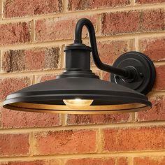 Gooseneck Lighting Outdoor, Outdoor Sconces, Outdoor Wall Lantern, Outdoor Walls, Garage Lighting, Porch Lighting, Barn Lighting, Sconce Lighting, Exterior Light Fixtures