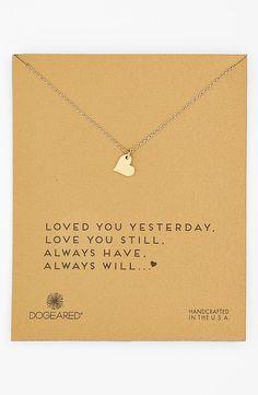 'Sparkle Heart' Pendant Necklace
