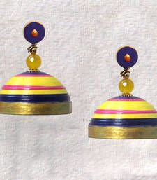 Quilled Jhumka!