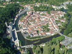 Brantome, the Little Green Venice in Dordogne, France
