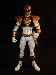 Mighty Morphin Power Rangers: White Ranger (Power Rangers) Custom Action Figure