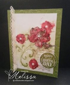 Stampin' Up! Everything Eleanor by Melissa Davies @rubberfunatics  #rubberfunatics #stampinup
