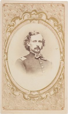 PhotographyCDVs George Armstrong Custer Carte De Visite Image 1
