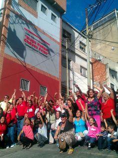 """inaugurdo Centro de Encuentros Comunitarios """"Hugo Rafael Chávez Frías"""" En Alta Vista."""
