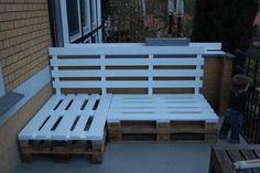 Rústico sillón con palets para dar vida a tu terraza - IMujer