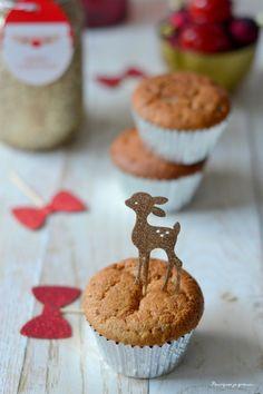 Winter cupcakes ! ~ Petits moelleux aux marrons, chantilly au mascarpone & à l'Amaretto. - Pourquoi je grossis