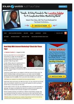 Need help with internet marketing check out these tips