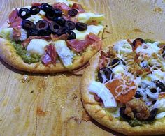 Quick homemade pizza dough is ready in 20 minutes and makes a fun party night when made into individual sizes that guests can top themselves.