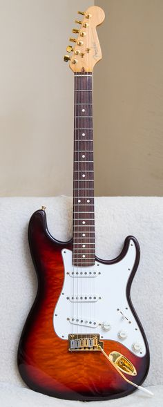 1996 Fender 50th Anniversary Stratocaster Quilt Maple Top and Back, One out of 2500 ever made! VERY RARE!