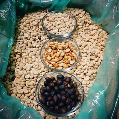 These are 3 of the most common methods of processing coffee: washed honey/ pulp-natural and full-natural (dried on the racks). The reason #coffeefarmers choose one method over others has little to do with flavor and more to do with their growing environment. In humid locations like #Hawaii full-natural and pulp-natural #coffees are challenging to dry and therefore riskier to produce. But in Africa where water is scarce and the air is much drier natural coffees are preferred and…