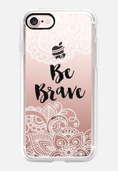 Casetify iPhone 7 Classic Grip Case - Be Brave II by Li Zamperini Art #Casetify
