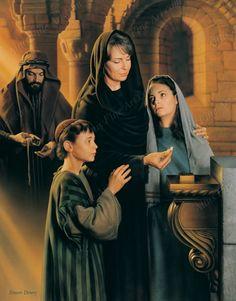 All That She Had, Simon Dewey (Mark 12:43-44)