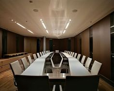 Boardroom of ArcelorMittal, 2009  Table of Power. Jacqueline Hassink.