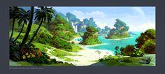 Skyforge. Island 01 by Andead.deviantart.com on @DeviantArt