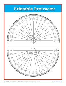 Here you'll find a printable protractor. Just print it out and use! Woodworking Protractor, Woodworking Templates, Woodworking Jigs, Cool Tools, Diy Tools, Book Folding Patterns Free Templates, Grid Paper Printable, Math Folders, Woodworking