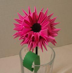 Pink Wildflower 1.JP… | Album | Heidi Lenney | 3D Origami Art