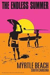 The Endless Summer – Original Movie Poster – Myrtle Beach, South Carolina (24×36 Giclee Print)